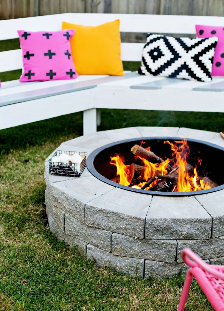 DIY Camping Fire Pit