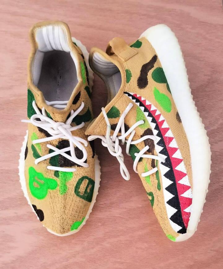 DIY Custom Sneakers