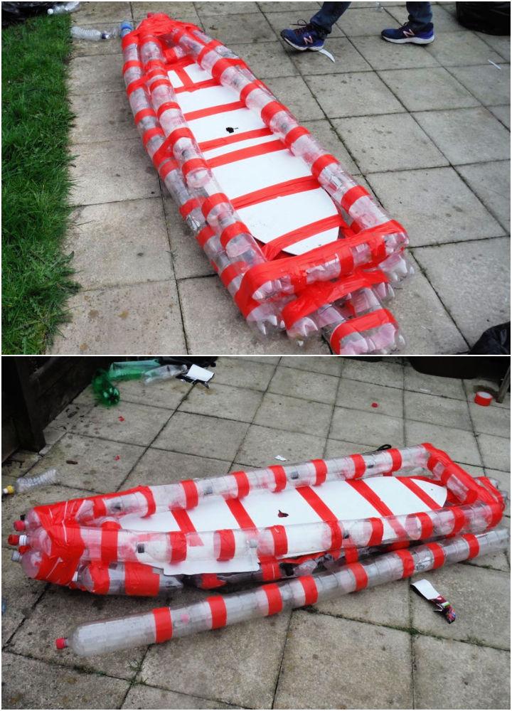 DIY Plastic Bottle Boat