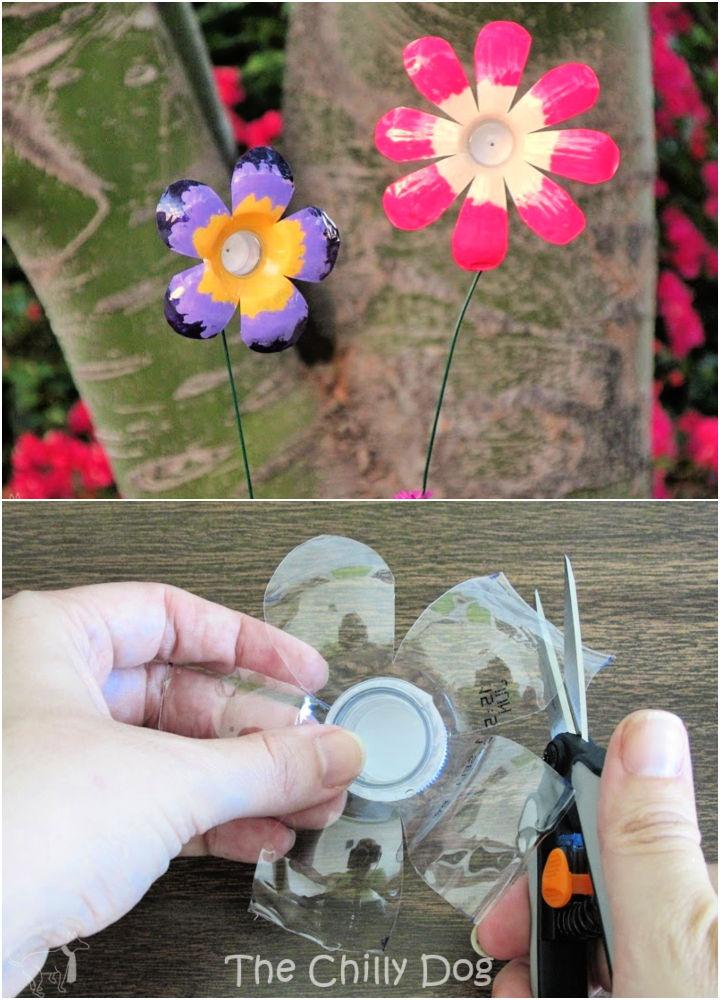 DIY Plastic Bottle Flowers