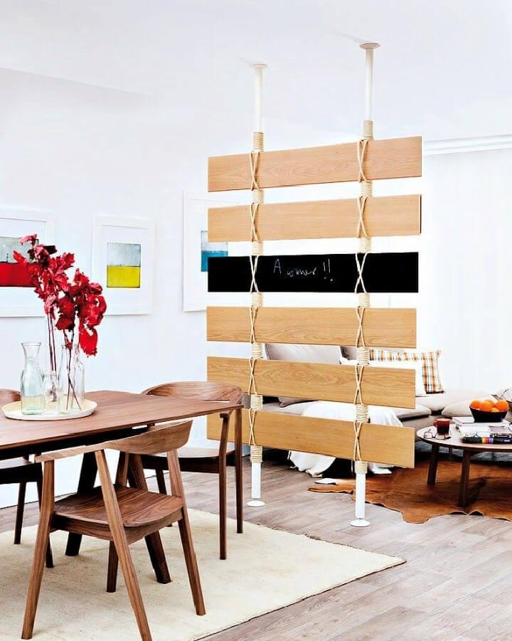 DIY Room Divider Wall