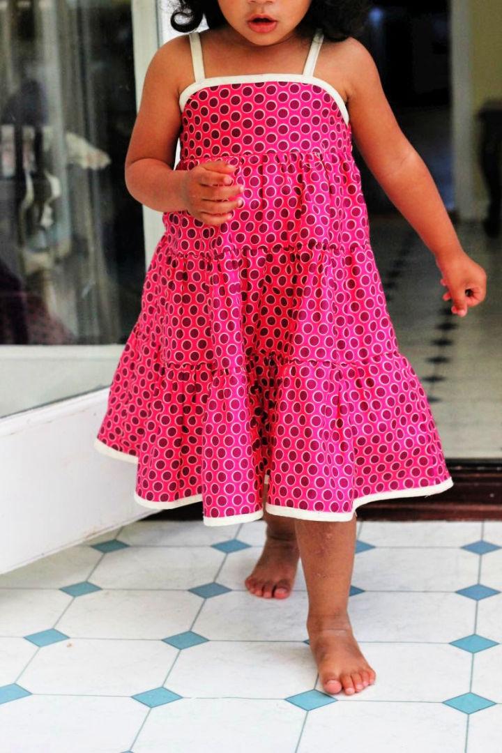 DIY Toddlers Summer Dress