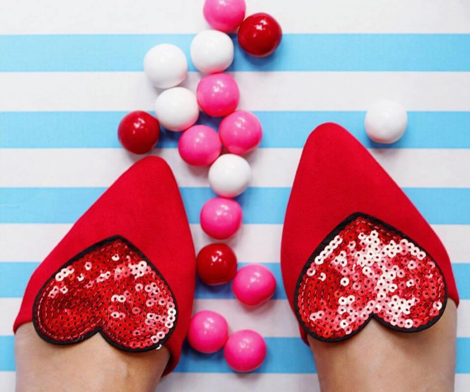 DIY Valentine Shoe