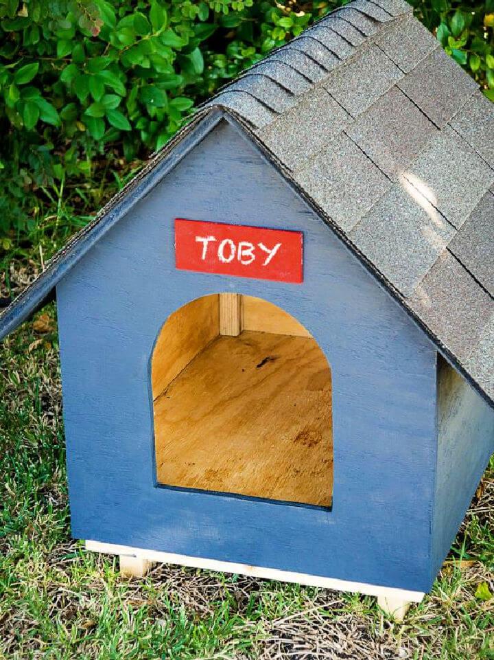 Easy DIY Dog House