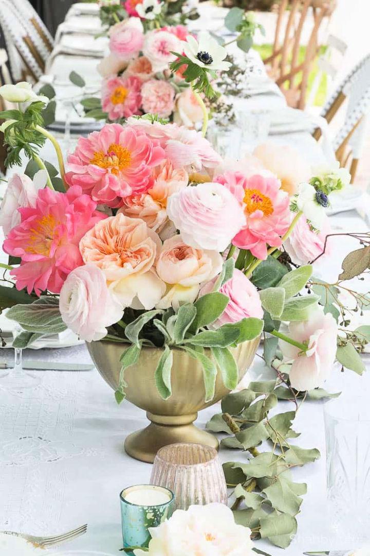 Fake Large Floral Arrangement