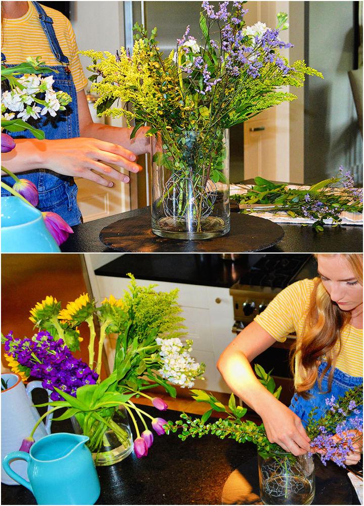 Floral Flower Arrangement for Under 20