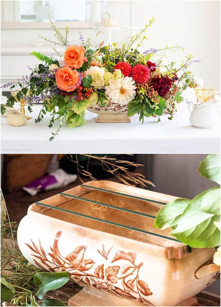 Foraged Flower Arrangement