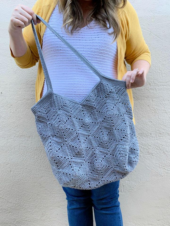 Free Crochet Mirna Tote Bag Pattern