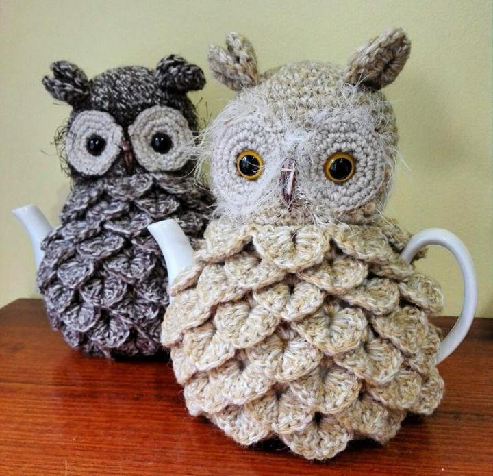 Free Crochet Tea Cozy Pattern