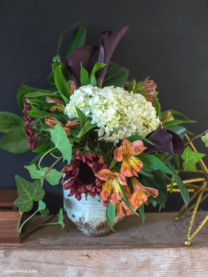 Fresh Flower Centerpiece Arrangement