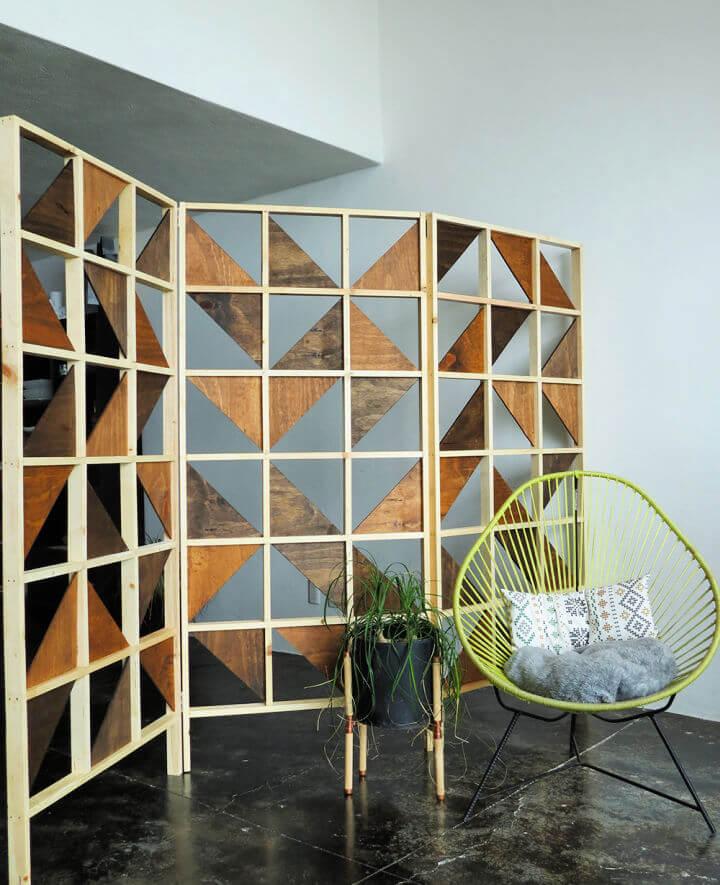 Geometric Room Divider
