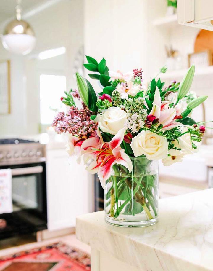 Grocery Store Flower Arrangement