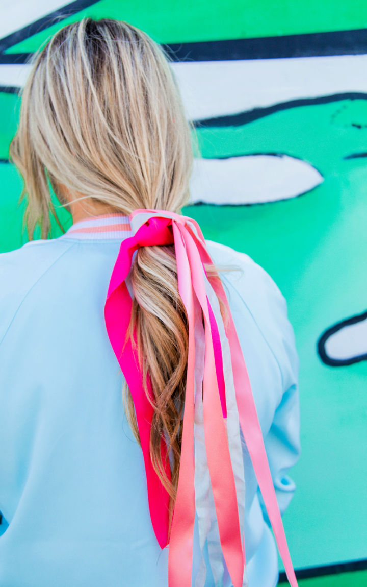 Hair Bows Out of Ribbon without Sewing