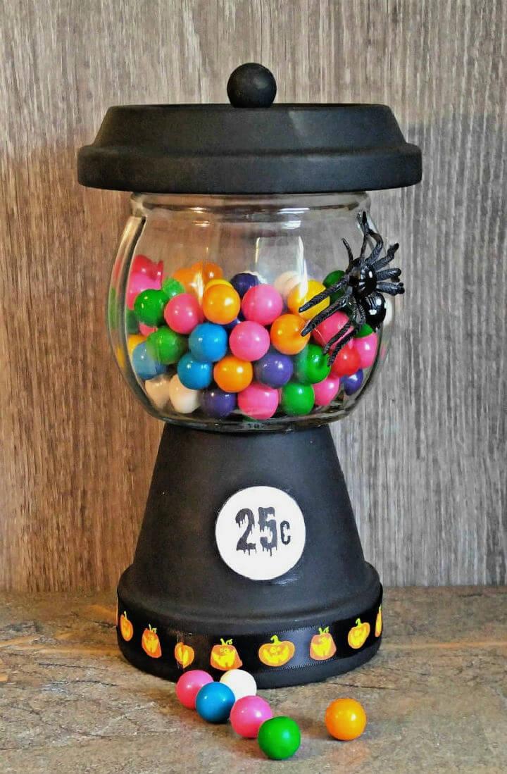 Halloween Gumball Machine – Bubble Gum Jar for Halloween