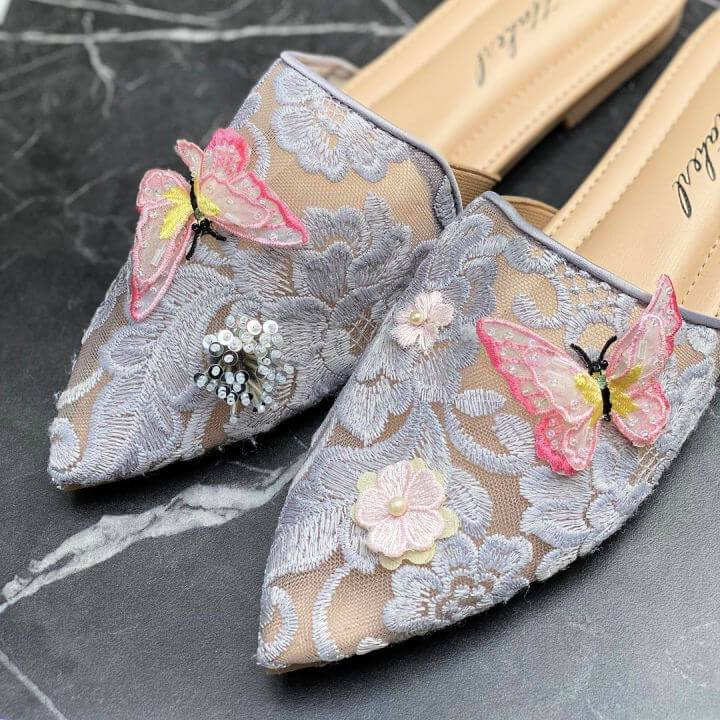 Handmade Embroidery Shoes