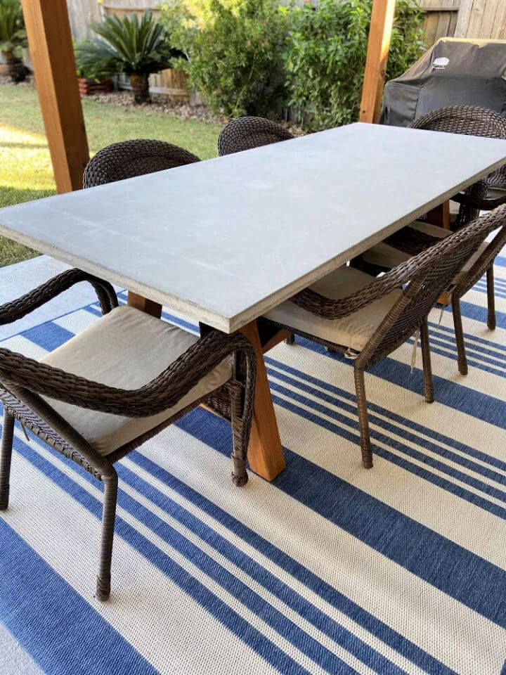 Hardware Outdoor Table