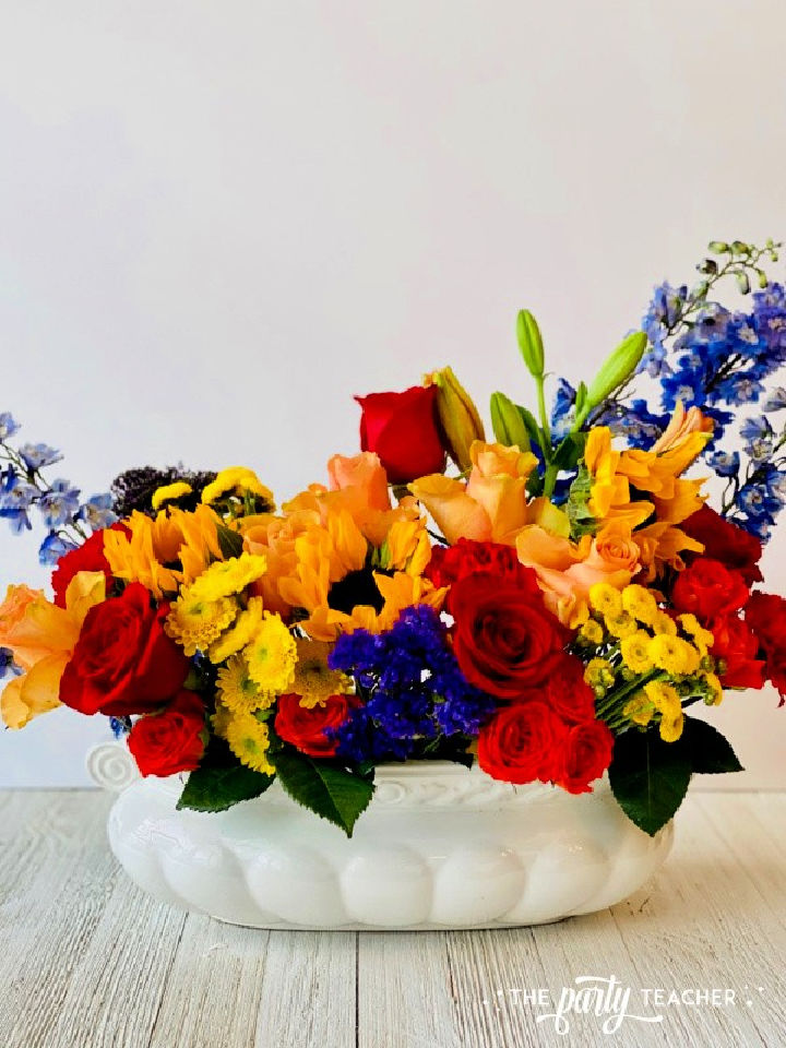 How to Arrange Flowers Using Oasis