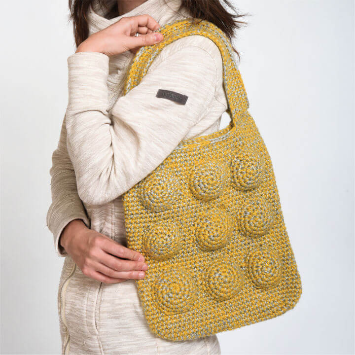 How to Crochet 9 Ball Tote Bag