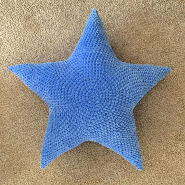 How to Crochet Star Pillow