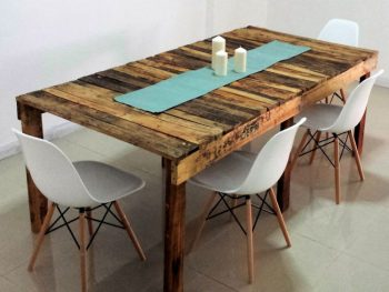 How to Make Dining Table from Pallet