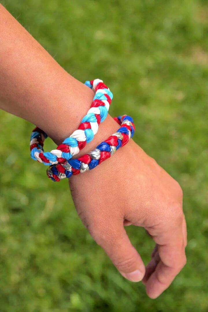 How to Make Duck Tape Bracelets