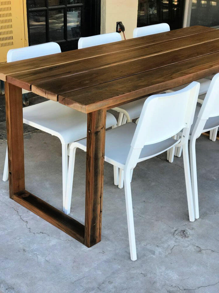 How to Make Outdoor Table