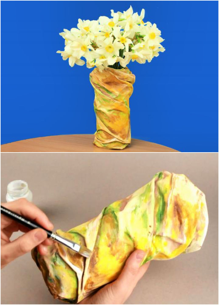 How to Make a Bottle Vase