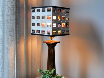 How to Make a Slide Lampshade