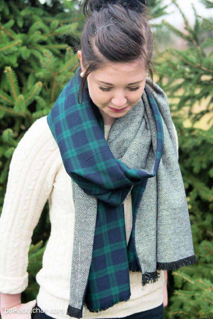 How to Make a Winter Scarf