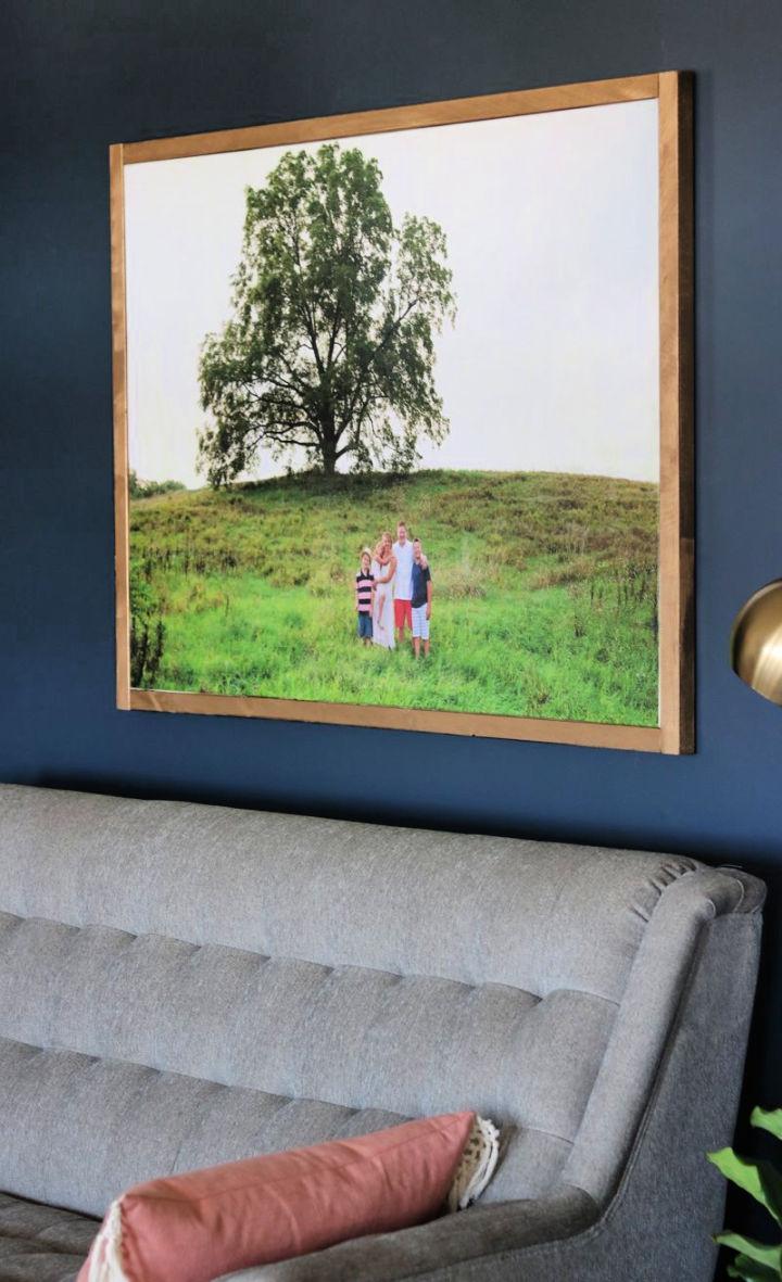 Large Photo Canvas Wall Art