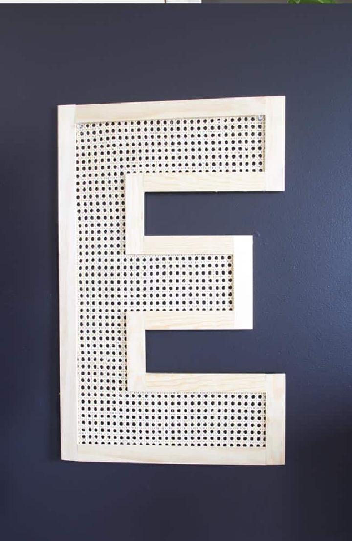 Letter Wall Art for Living Room
