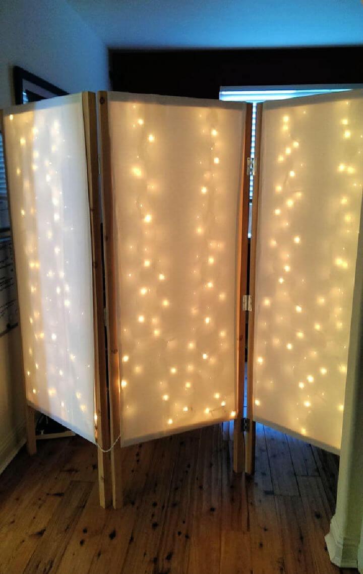 Lighted Room Divider