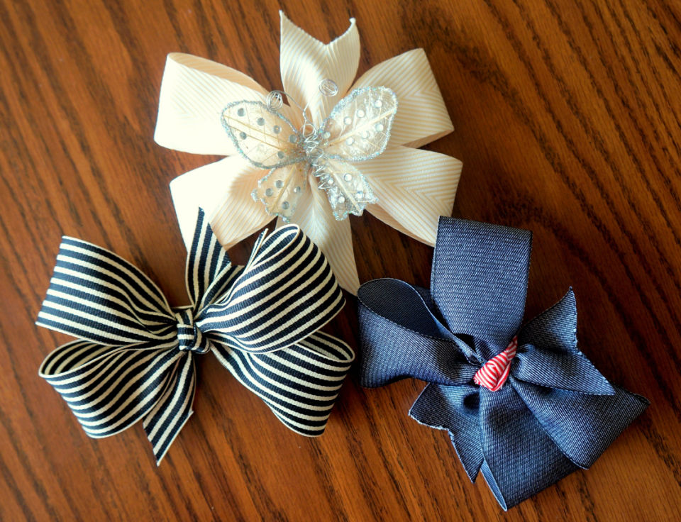Make Your Own Hair Bow
