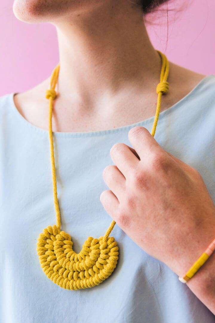 Make a Knot Necklace