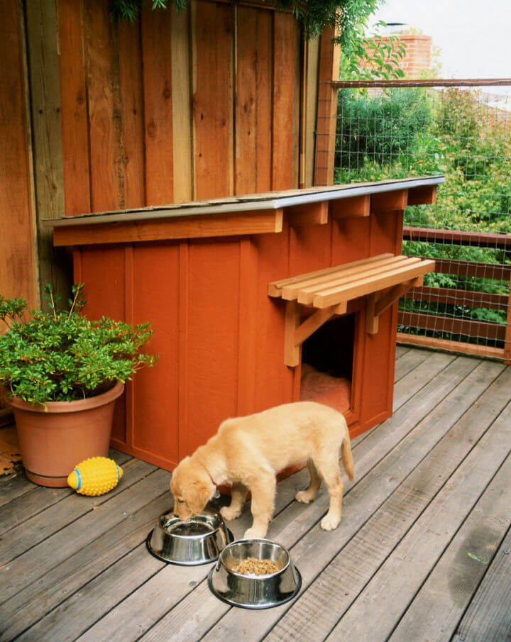 Mini Ranch Style Doghouse