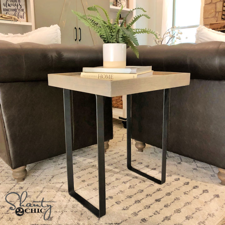 Modern Rustic End Table