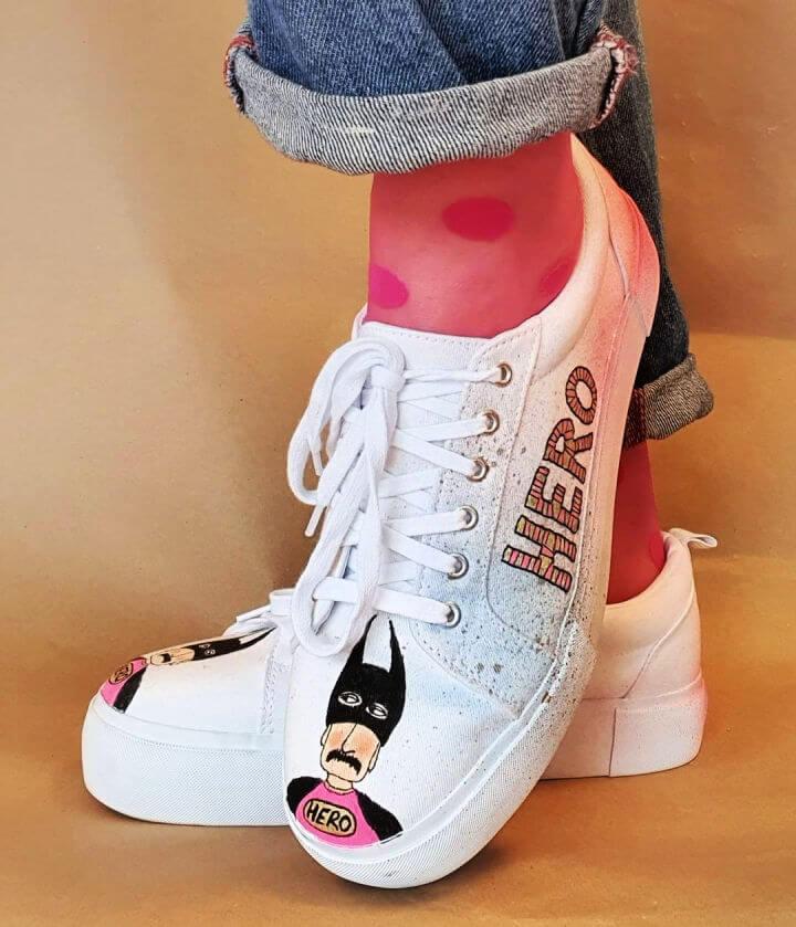 Newly Created Hero Shoes