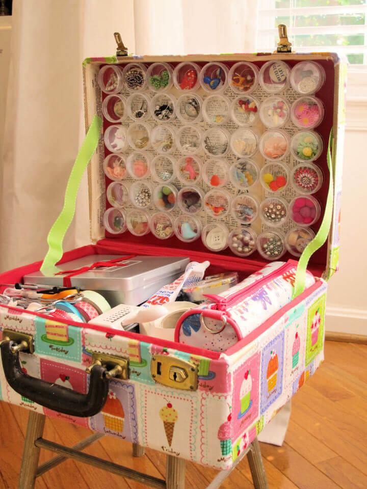 Old Suitcase Storage