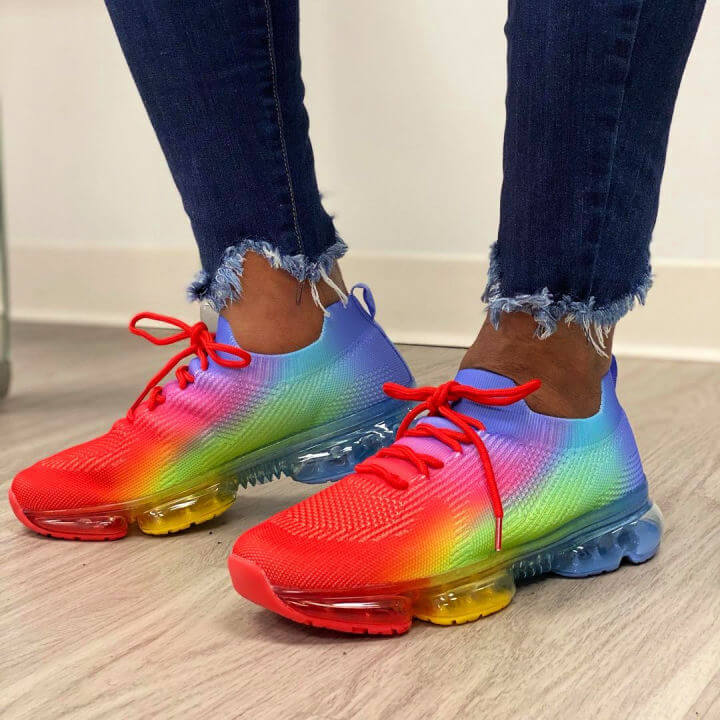 Ombre Sneaker Makeover