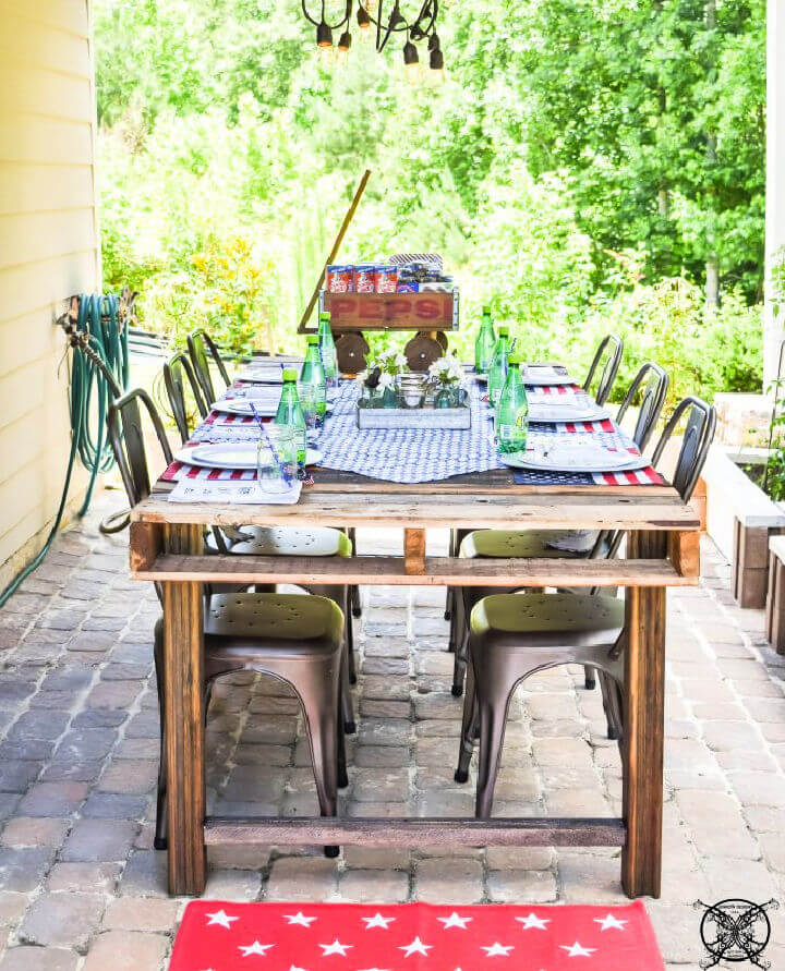 Pallet Wood Dining Table