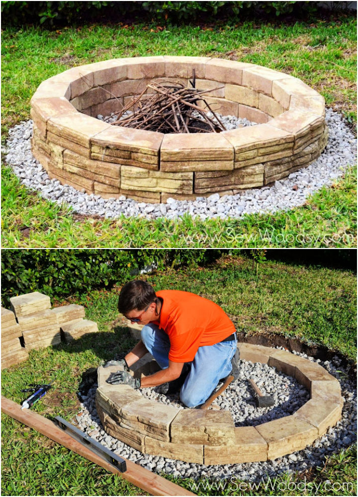Permanent Outdoor Fire Pit