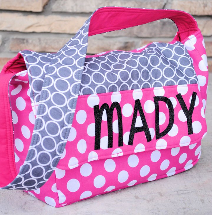 Personalized Kids Messenger Bag