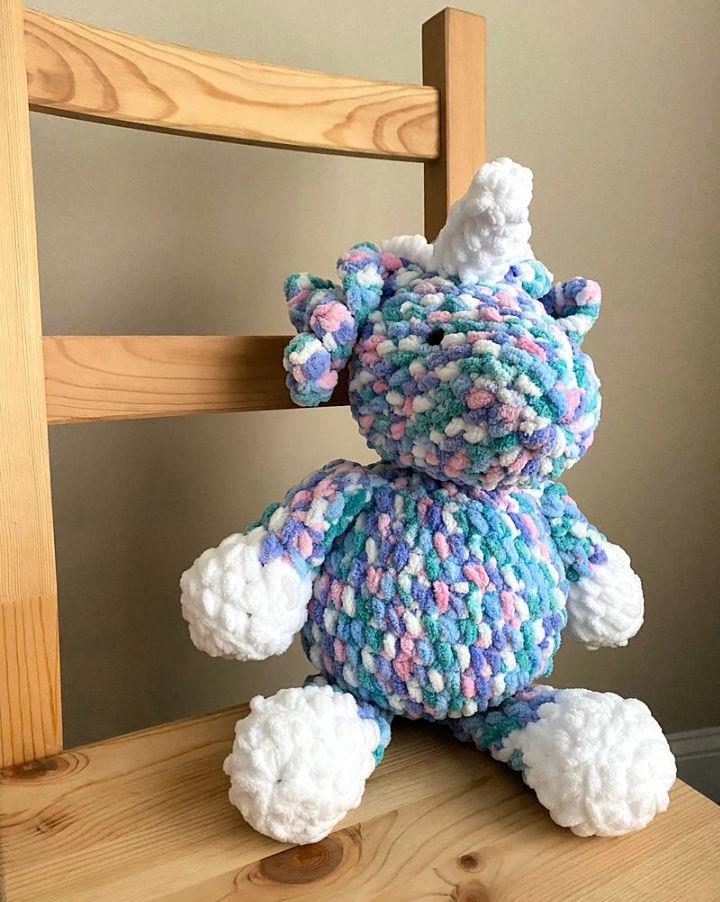Pillow Unicorn Crochet Pattern