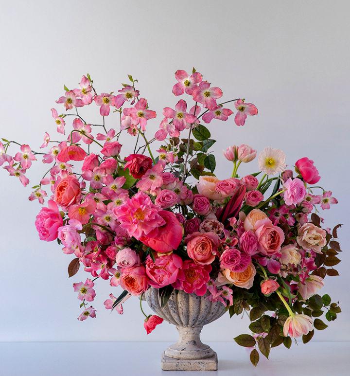 Pink Spring Floral Arrangement