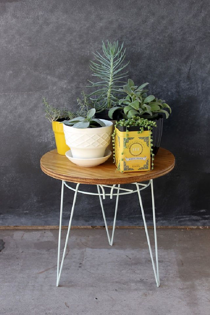 Plant Stand to End Table