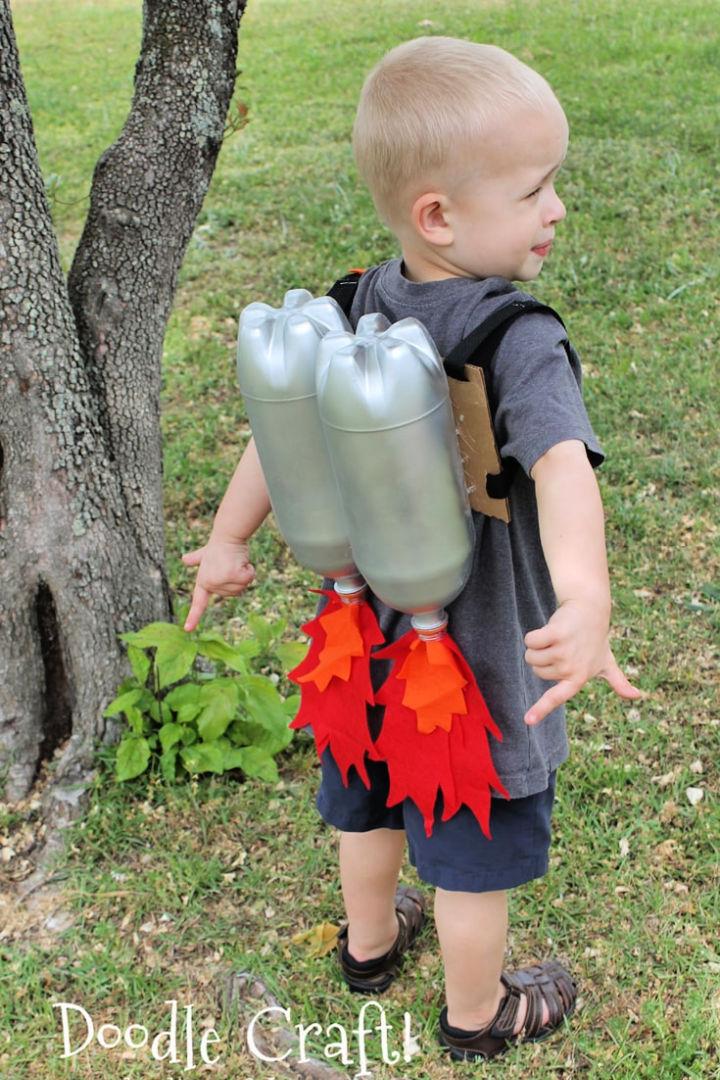 Plastic Bottle Rocket Jet Pack