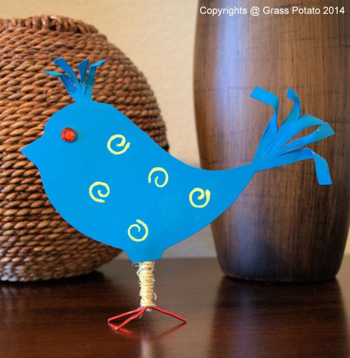 Plastic Bottle Spring Bird
