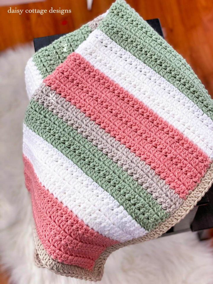 Quick and Easy Crochet Blanket Pattern