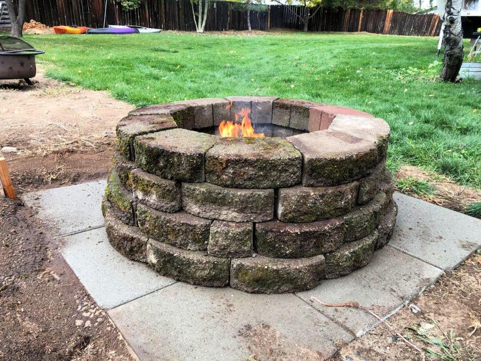 Roaring Fire Pit