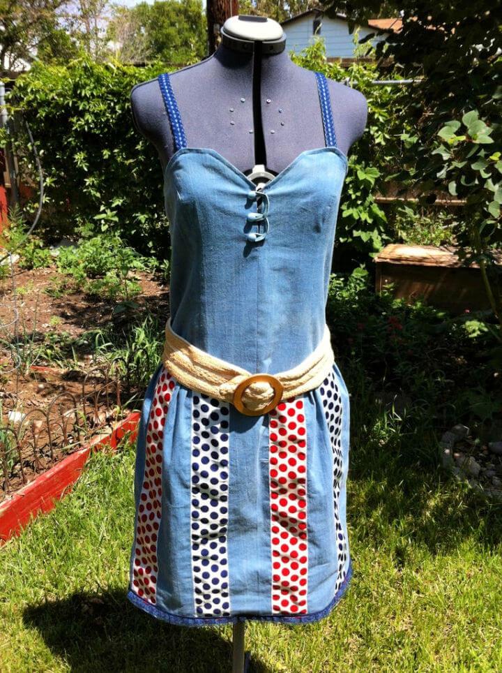Scarf Dress DIY